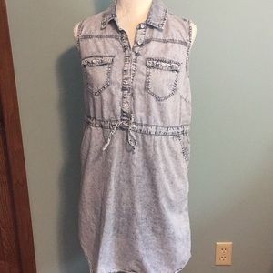 Mossimo Distressed Jean Dress